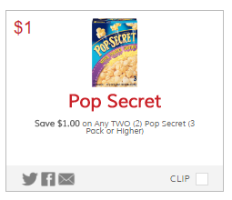 Pop Secret Coupon