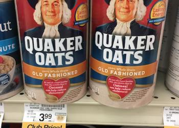 Quaker Oats Sale