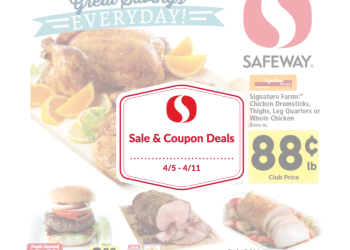 Safeway Sale and Coupon Deals 4/5 – 4/11