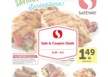 Safeway Sale and Coupon Deals 3/29 – 4/4