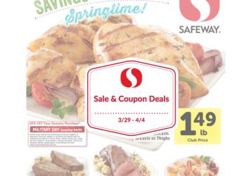 Safeway Sale and Coupon Deals 3/29 – 4/4