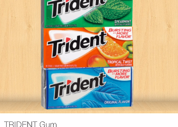 Trident Gum for Just $0.50