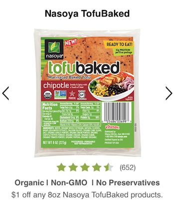 nasoya tofubaked coupon