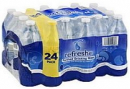 refreshe Water Coupon, Only $1.67 for a 24 Pack – That's $0.07 a Bottle
