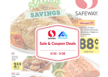 Safeway and Albertsons Sale and Coupon Matchups 3/22 – 3/28