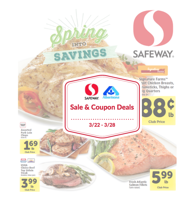 safeway sale and coupon matchups