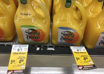 Simply Orange Juice Coupon and Sale – Save 41% on OJ