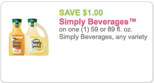 simply orange juice coupon