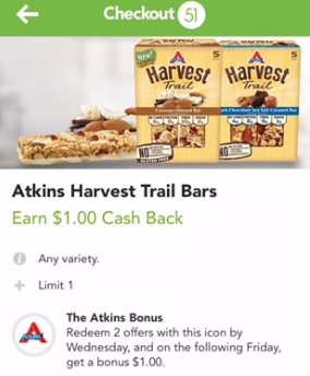 Atkins rotary discount coupon