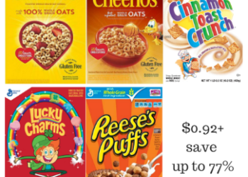 General Mills Cereal Deals – Pay as Low as $0.92 for a Box