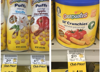 Save on Gerber Snacks and Baby Food With New Gerber Coupons and Sales at Safeway