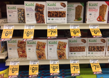 NEW Kashi Chewy Nut Butter Bars for $2.50
