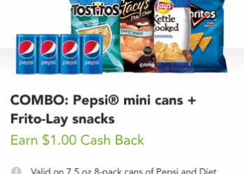 Pepsi for $2.49 and Lay's for $1.49