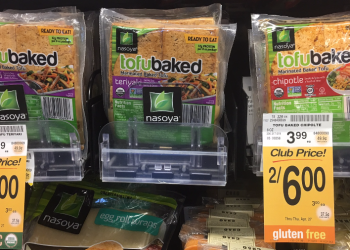 Nasoya tofubaked For as Low as $2.00