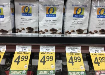 O Organics Coffee Coupon, Pay $2.99 – Save 63%