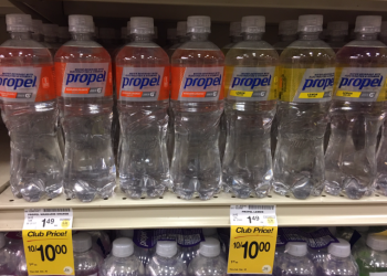 Save 67% on Propel Electrolyte Water, Pay $0.50