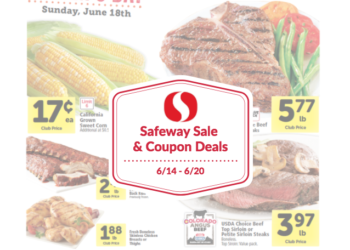 Safeway Sale and Coupon Deals 6/14 – 6/20