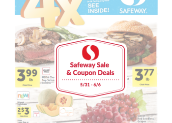 Safeway Sale and Coupon Deals May 31st – June 6th