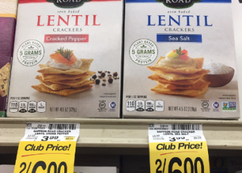 Saffron Road Coupon, Only $1.00 for Lentil Crackers