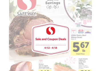 Safeway Sale and Coupon Match-ups 4/12 – 4/18
