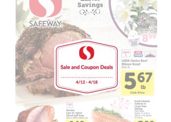 Safeway Sale and Coupon Match-ups 4/12 – 4/18