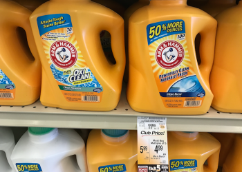 Arm & Hammer Detergent Just $.03 per load!  Save $8 or 67%