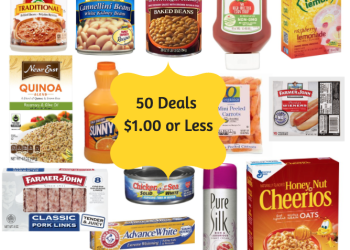 50 Products $1.00 or less