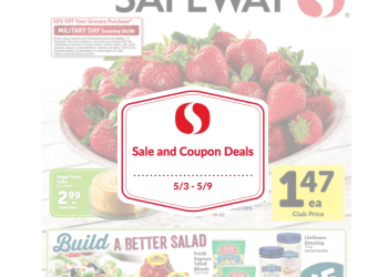 Safeway Sale and Coupon Deals 5/3 – 5/9
