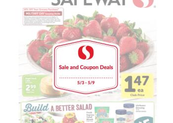 Safeway Sale and Coupon Deals 5/3 – 5/9