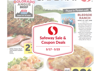 Safeway Sale and Coupon Deals 5/17 – 5/23