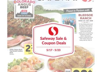 Safeway Sale and Coupon Deals 5/17 – 5/23