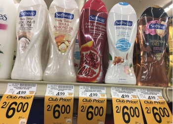 Softsoap Body Wash Just $2.00 at Safeway With Coupon, Save 59%