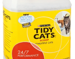 Save 50% on Tidy Cats Litter, Only $4.99