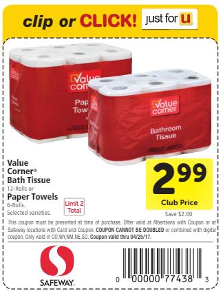 Value Corner Coupon
