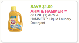 Arm Amp Hammer Detergent Just 03 Per Load Save 8 Or 67