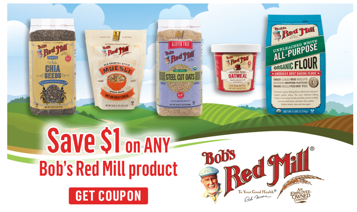 bob's red mill coupon