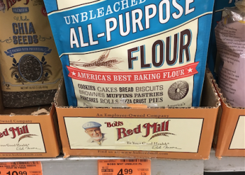 Bob's Red Mill Flour 5 lb Bag Just $2.74 With Coupon and Sale, Save 45%