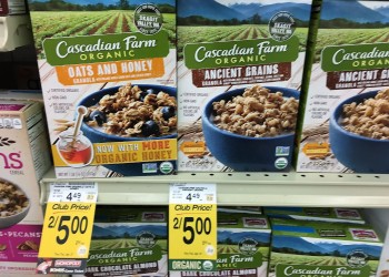 New Cascadian Farm Cereal Coupons and Sale, Save 56%