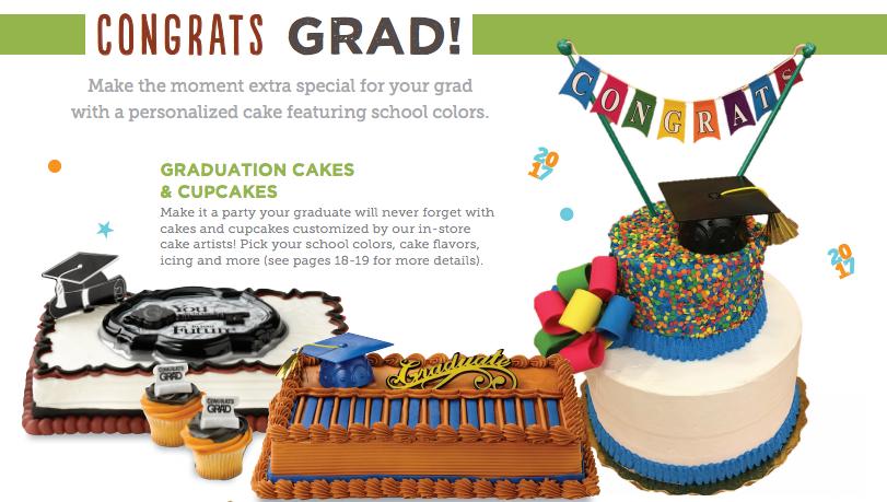 10 off Custom Graduation Cake Coupon from Safeway Super Safeway