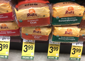New Rudi's Organic Bread Coupon – Pay just $2.99 a Loaf
