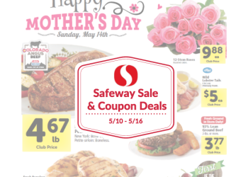 Safeway Sale and Coupon Deals May 10th – May 16th