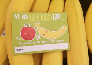 Safeway Free Produce for Kids