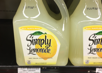 New Lemonade Coupon Get Simply Lemonade 89 oz for $2.25, Reg. $5.49, Save 59%