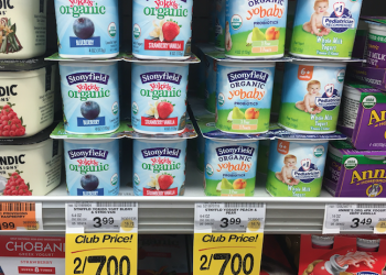 Stonyfield YoKids and YoBaby Yogurt Just $2.75 With Sale and Coupon
