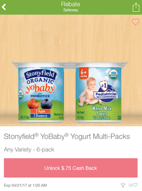 stonyfield yobaby coupon