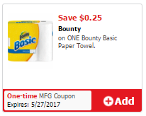 Bounty Basic Coupon
