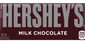 Hershey's Candy Bars For $0.33