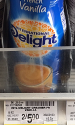 International Delight Coupon, Pay as Low as $1.00 for Creamer