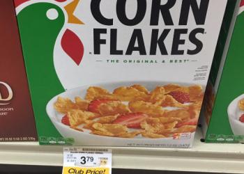 Kellogg's Corn Flakes Coupon, Pay as Low as $1.49