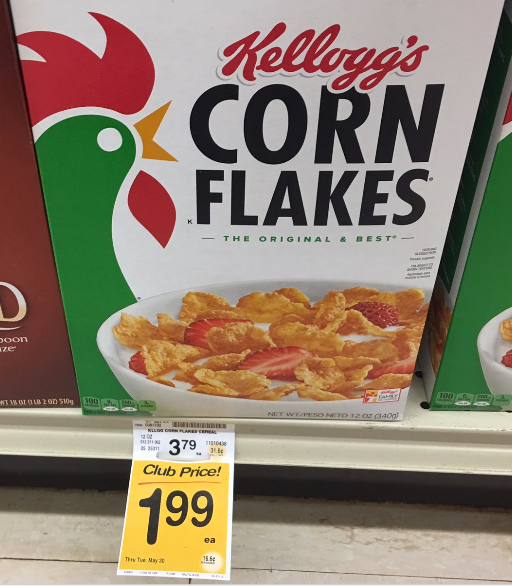 coupon corn flakes